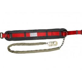 Пояс предохранительный ПП1-Г (со стропом – цепь в чехле) фото - купить