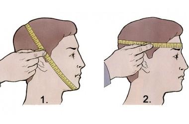 Определяем размер маски-противогаза ШМП