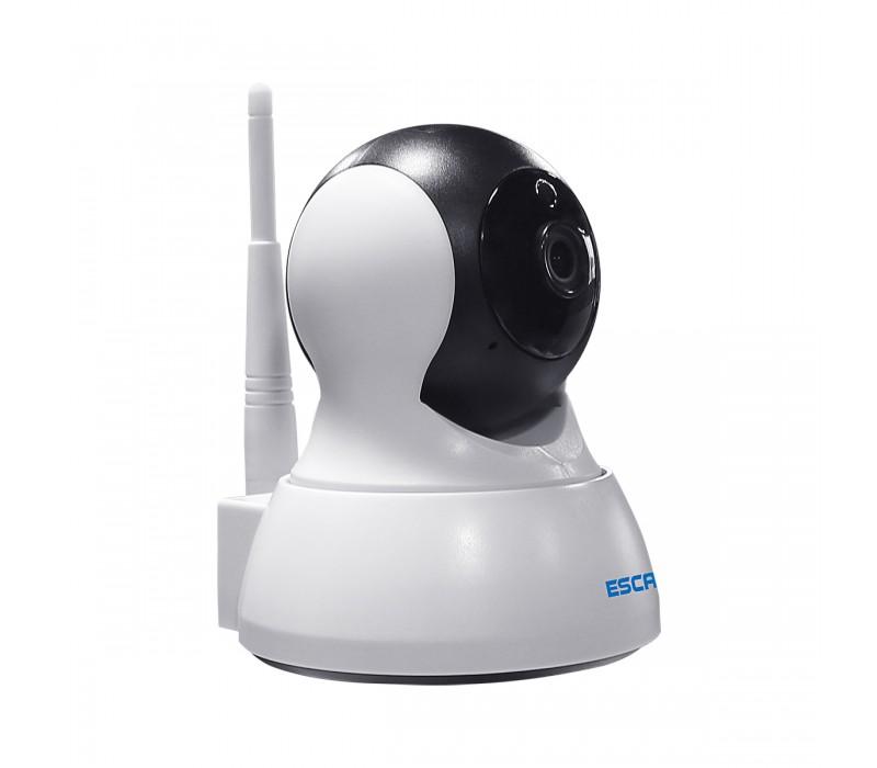 WiFi IP камера ESCAM QF007 белая фото - купить