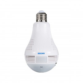 WiFi IP камера ESCAM QP136 960P HD LED Bulb Light фото - купить