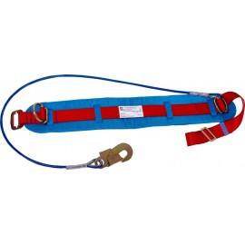 Пояс предохранительный ПП1-Б (со стропом – металлический канат) фото - купить