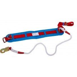 Пояс предохранительный ПП1-Д (со стропом – капроновый канат крученый) фото - купить