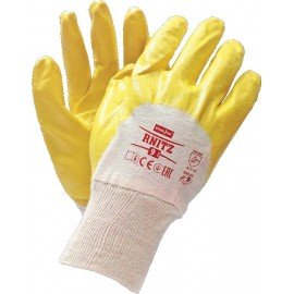 Перчатки х/б облитые нитрилом RNITZ (315) фото - купить