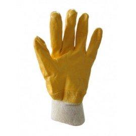 Перчатки ребристые латексные с полным обливом фото - купить