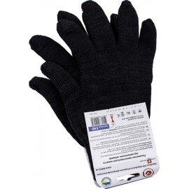 Перчатки трикотажные без ПВХ точки (00200) фото - купить