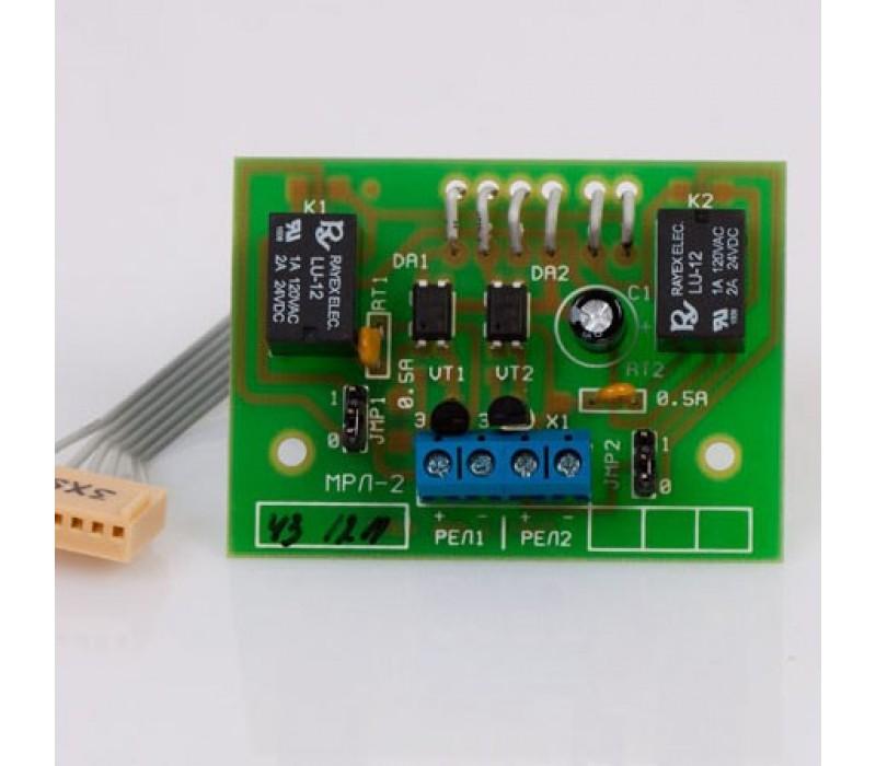 Модуль релейных линий МРЛ-2.2 фото - купить