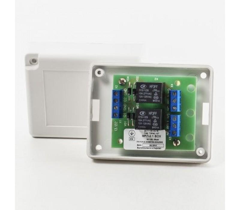 Модуль релейных линий МРЛ-2.1 BOX фото - купить