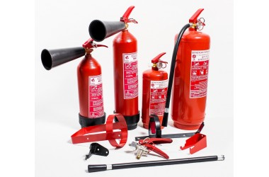 Устройство и типы огнетушителей