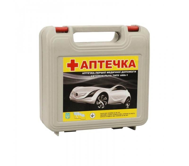 Аптечка автомобильная АМА-1/АвтоПрофи/футляр фото - купить