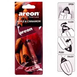 Освежитель воздуха жидкий листик AREON LIQUID Apple & Cinnamon 5ml фото - купить