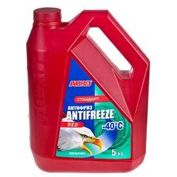 Антифриз ABRO AF-565-L стандарт -40ºС красный 5кг