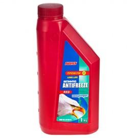 Антифриз ABRO AF-661-H Long Life премиум концентрат красный 1кг фото - купить