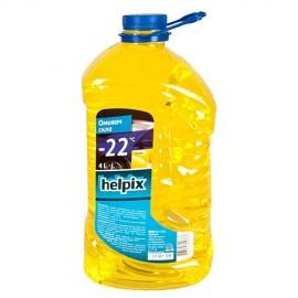 """Омивач скла зимовий HELPIX 4Л """"-22"""" (лимон)"""
