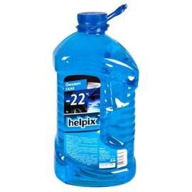 """Омыватель стекол зимний HELPIX 4Л """"-22"""" (aqvablue)"""