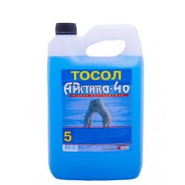 """Тосол """"Арктика-40""""  -24С (кан. 5л)"""