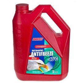 Антифриз ABRO AF-565-L стандарт -40ºС красный 5кг фото - купить
