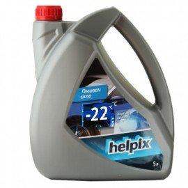 Омыватель стекол зимний HELPIX 5Л -22 (море) фото - купить