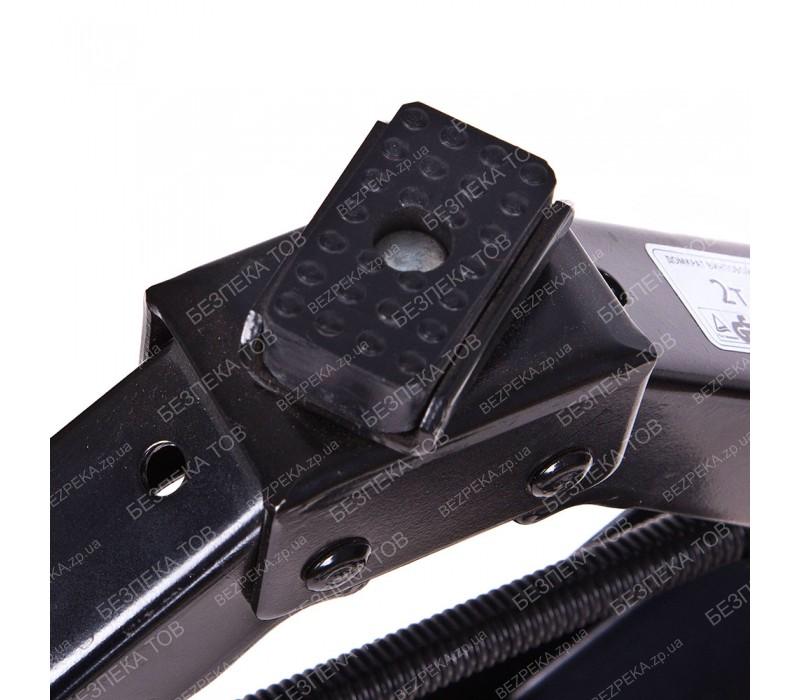 Домкрат ромб 2 т ST-113/резин.упор (ST-113). Высота подъема 390 мм. фото - купить