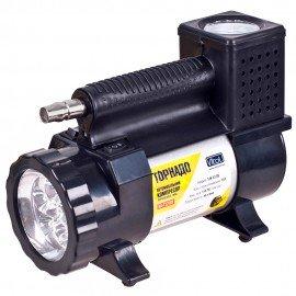 Компрессор Торнадо КА-Т12181 150psi/15Amp/40л/фонарь/прикур.+переходник/шланг 3,0м фото - купить