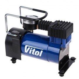Компрессор ViTOL K-20 100psi/12Amp/35л/прикуриватель фото - купить