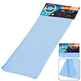 Салфетка микрофибра 9846G д/стекла 40х30см/голубая фото - купить