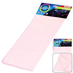 Салфетка микрофибра 9846P полировка 40х30см/розовая