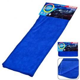 Салфетка микрофибра 9846U универс. 40х30см/синяя фото - купить
