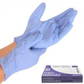 Перчатки нитриловые неопудренные XL 100шт / уп NPF35-XL (10уп) фото - купить