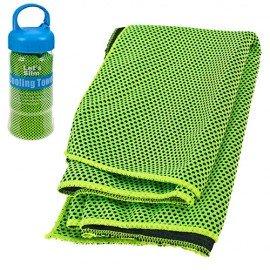 Полотенце для спорта охлаждающее 18см в тубе R22765 фото - купить