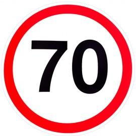 Наклейка Знак 70