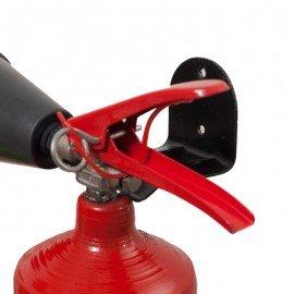 Кронштейн для огнетушителя углекислотного настенный фото - купить