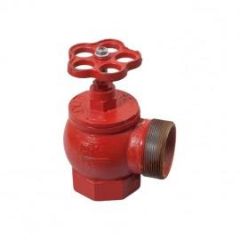Вентиль пожарный угловой Ду50 ВН фото - купить