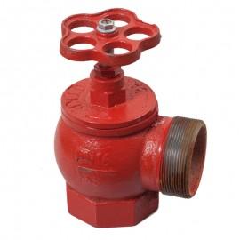 Вентиль пожарный угловой Ду65 ВН фото - купить