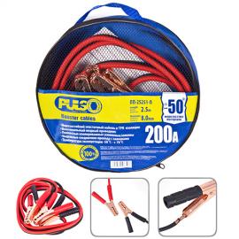 Прикуриватель PULSO 200А (до -50С) 2,5м в чехле фото - купить