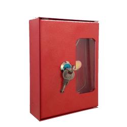 Ключница пожарная для комплекта ключей с молоточком