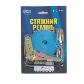 Стяжка груза 1Т. ST-214- 5 25мм х 5м синяя/блистер фото - купить