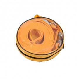 Трос буксир ST206B/TP-209-5-1 5т лента 50мм х 6м оранж/2 крюка/сумка фото - купить