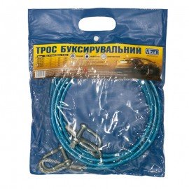 Трос буксир ST201A-U 3т метал./скоба 6мм х 4м пласт. защ. фото - купить