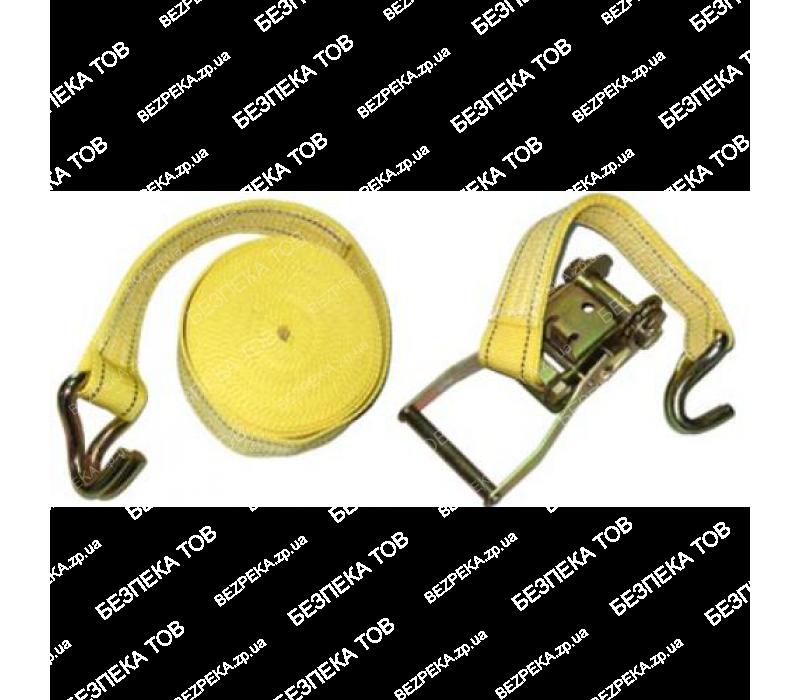 Стяжка груза 5Т. ST-212D-10 YL 50мм х 10м (мех.+трос) фото - купить